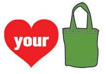 heart your bag