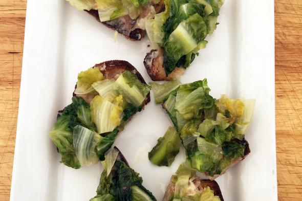 04.21.18 Tamar Adler BRAISED LETTUCE ON TOAST