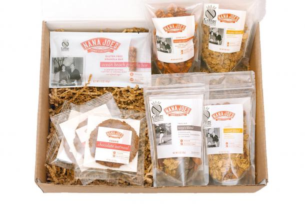 Gifts from our foodshed cuesas farmers market holiday guide cuesa nana joes granola is known for their innovative gluten free granolas made in san francisco using farmers market ingredients negle