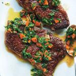 3-Minute Steaks with Carrot Chimichurri (c) David Malosh_web