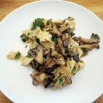 ROASTED MUSHROOM AND YUBA SALAD
