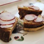 RADISHES WITH BUTTER jacques pepin